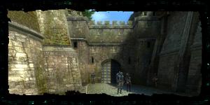 Kupecká brána, od Kupecká čtvrť