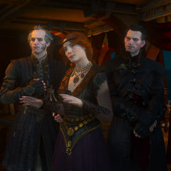 Regis, Orianna and Detlaff