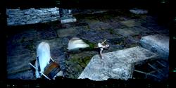 Geralt encuentra el cadáver de Ilsa
