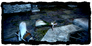 Geralt scopre il cadavere di Ilsa