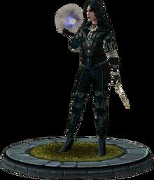 Twba character model Yennefer