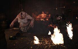 Fight Geralt vs Allgod