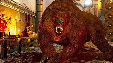 The Witcher 3 Berserkers (Bears) Boss Fight