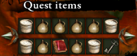 Grandma's quest items multiplying glitch