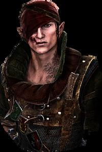 Iorveth in The Witcher 2