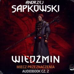 Polish cover of audiobook/audio play