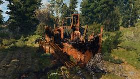 Tw3 Aeramus manor burned