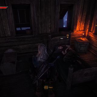 Moril in Loredo's mansion