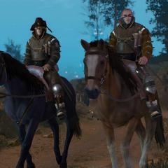 Two cavalrymans of organisation