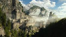 Tw3 Kaer Morhen valley