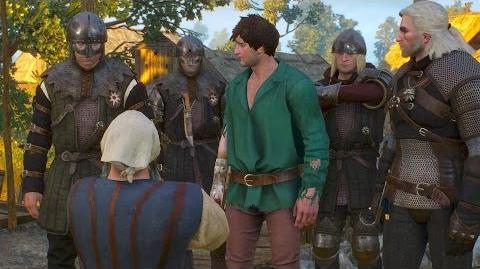 Twisted Firestarter- Geralt, Dwarf and Arsonist (Witcher 3 Quest - White Orchard)