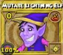 Mutate Lightning Elf Treasure Card