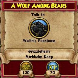 Q GH A Wolf Among Bears