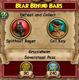 Bear Behind Bars