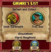 Q GH Grendel's List