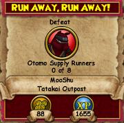 Run Away, Run Away!
