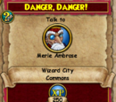 Danger, Danger!