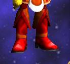 Fiery boots