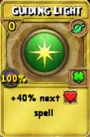 Guiding Light Treasure Card
