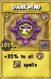 Darkwind Treasure Card