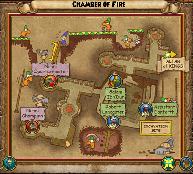 Chamber Of Fire Map