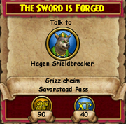 The Sword is Forged