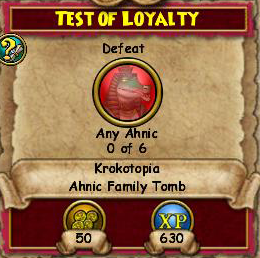 Test of Loyalty