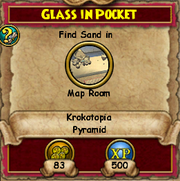 Glass in Pocket