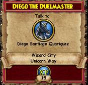 Diego The Duelmaster