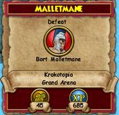 Malletmane