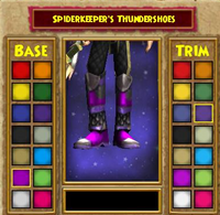 Boots DS Spiderkeeper's Thundershoes Female