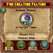 Fire Creature Feature 2