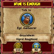 Nine is Enough