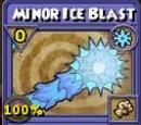 Minor Ice Blast Item Card
