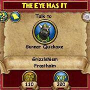 Q GH The Eye Has It
