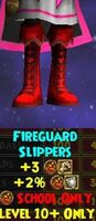 Boots WC Fireguard Slippers Female