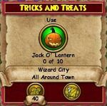 Q WC Tricks and Treats