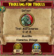 Trolling for Trolls