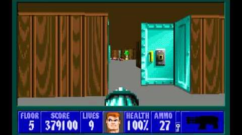 Wolfenstein 3D (id Software) (1992) Episode 5 - Trail of the Madman (Complete) HD