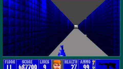 Spear Of Destiny 3 - Ultimate Challange - Floor 12 (Lower Bunker Area 1)