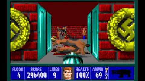 Wolfenstein 3D (id Software) (1992) Episode 5 - Trail of the Madman - Floor 4 HD