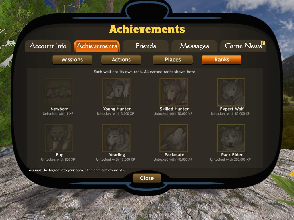 Ranks wolfquest wiki fandom powered by wikia ccuart Choice Image