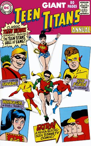 Teen Titans 80pg Annual 1999