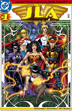 Justice League Amazons