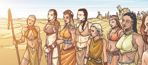 Amazons of Bana-Mighdall - Amazons Attack 05 p06