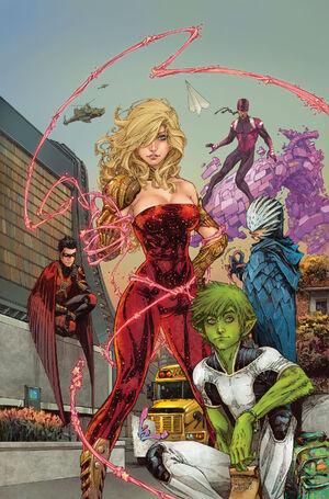 Teen Titans v5 1 textless