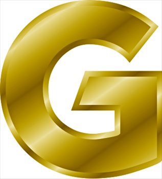 Image - Gold-letter-G.jpg - WikiWords