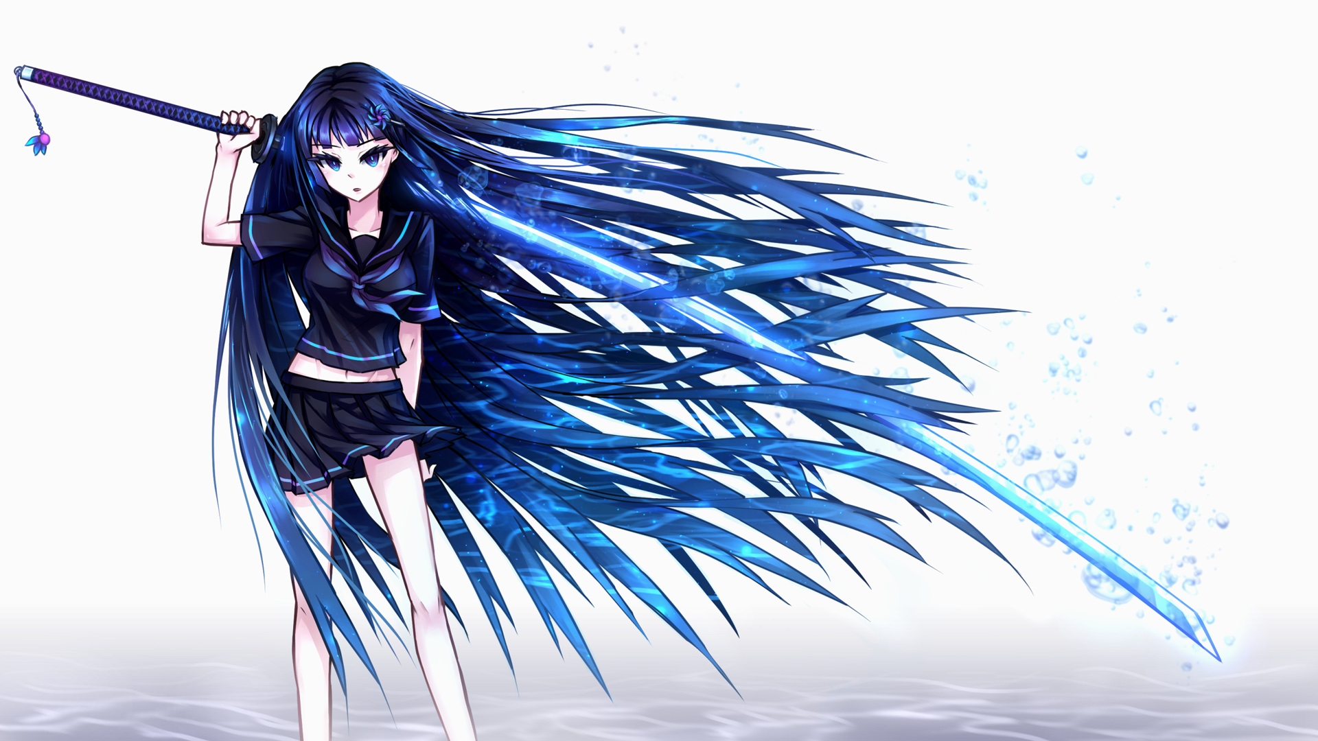 Tesla world of cresea wiki fandom powered by wikia - Girl with sword wallpaper ...