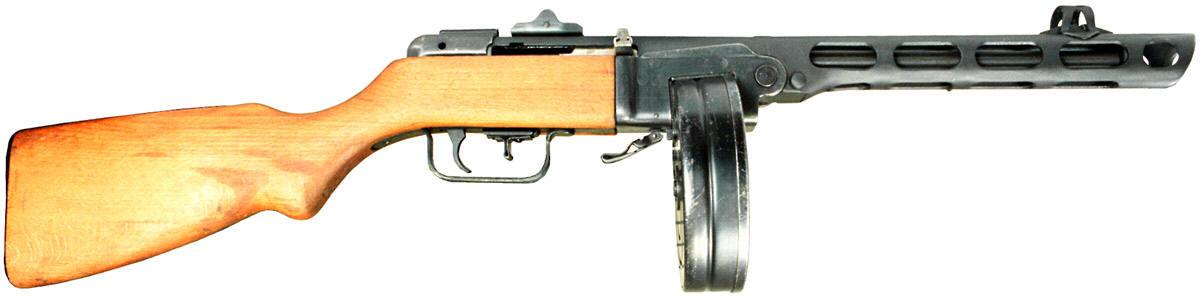 SMG: Russian PPSh-41 - C&Rsenal : : C&Rsenal
