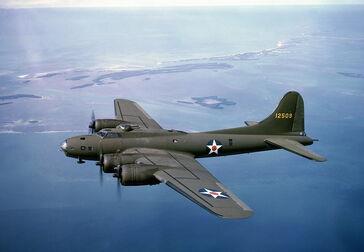 B-17E Flying Fortress 41-2509